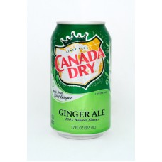 Canada Dry Ginger Ale 355ml x12