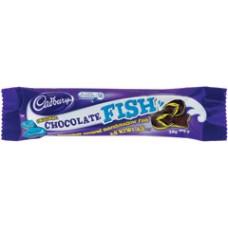 NZ CADBURY CHOC FISH 20g x42