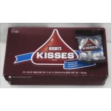 Hersheys Kisses 43g x24 bag