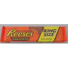 Reeses Kingsize Peanut Butter 4 Cup 79g x 24