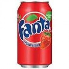 U.S.A. Fanta Strawberry 355ml x12